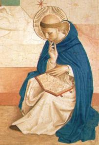 St Dominic with Scripture