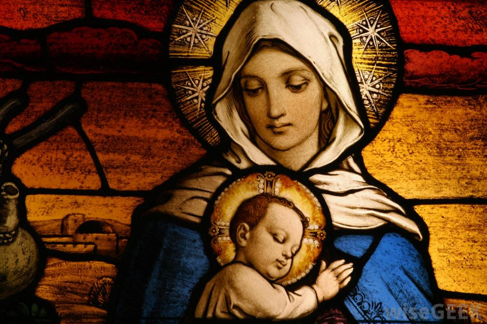 the virgin birth what did mary provide school of christian thought