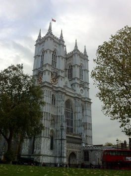 Westminster Abbey on Nov 22 2013
