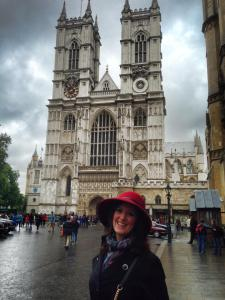 Westminster Abbey and me!